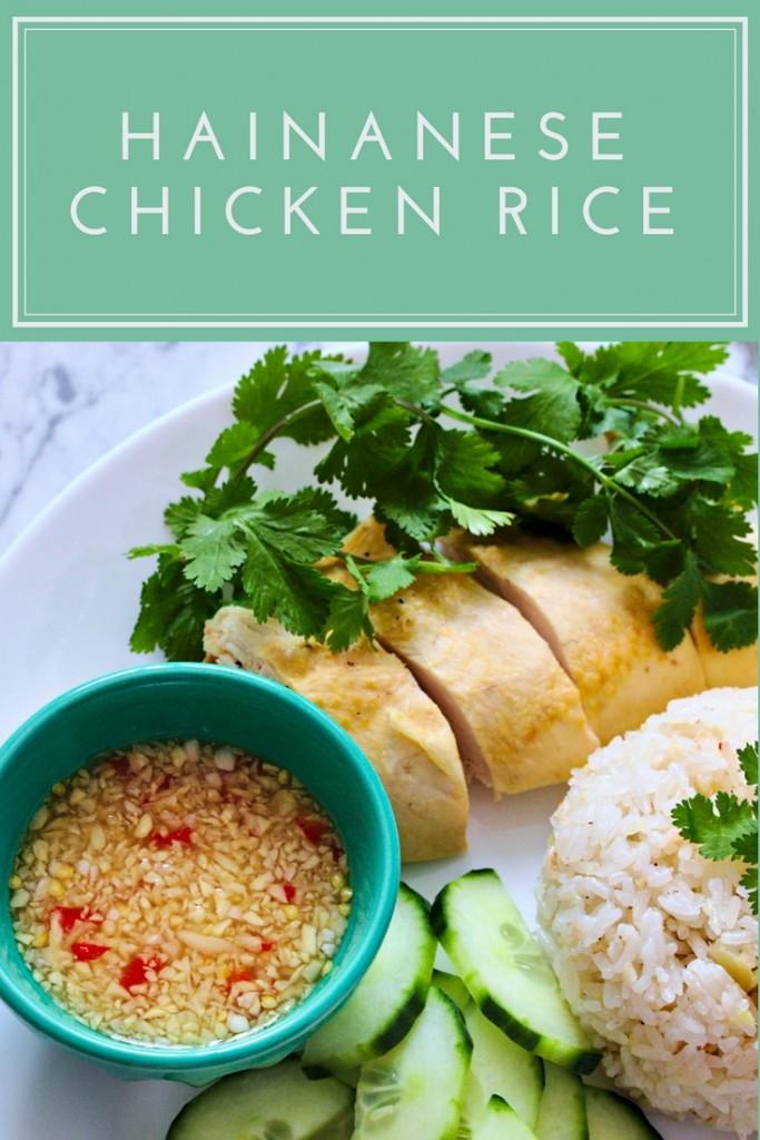 Hainanese chicken rice recipe   Cơm Gà Hải Nam   platedpalate.com